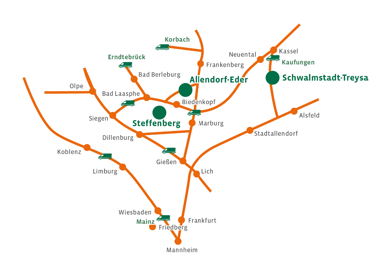 Gebietskarte 2015