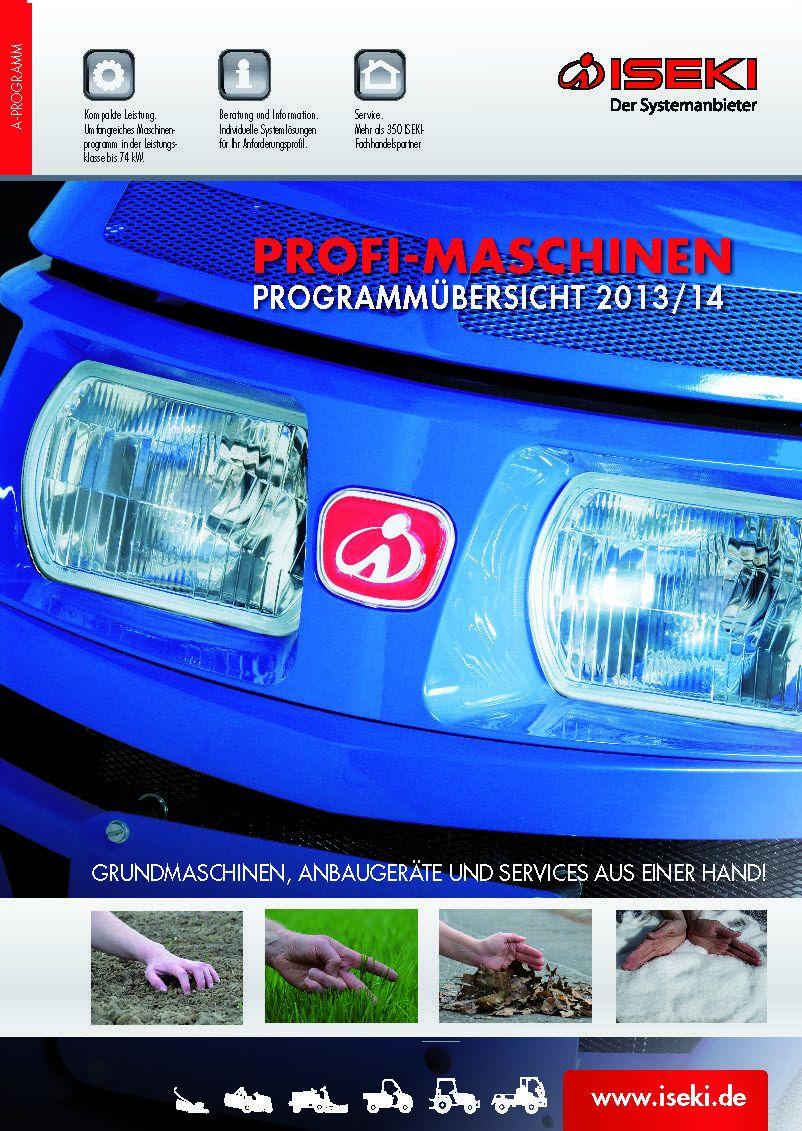 ISEKI-Profi_Maschinen-Programmuebersicht_2013-2014